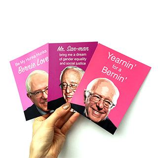 Bernie Sanders Valentines 3-Pack