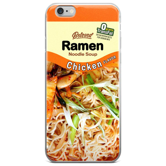 Chicken Ramen Phone Case