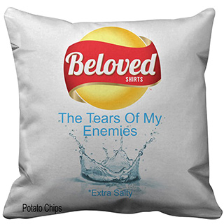 Enemy Tears Chips Pillow