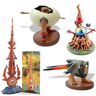 EXCLUSIVE: Mini Hieronymus Bosch Statues