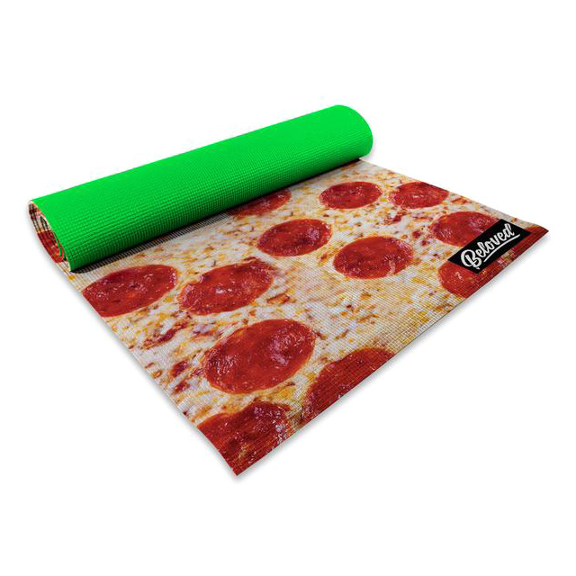Pizza Yoga Mat