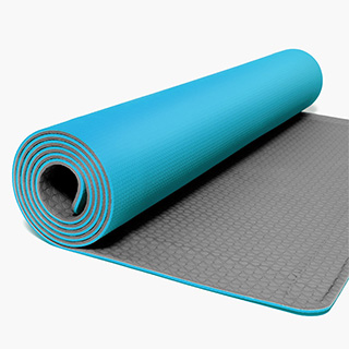 Self Rolling Yoga Mat