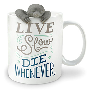 Sloth Infuser and Mug Set