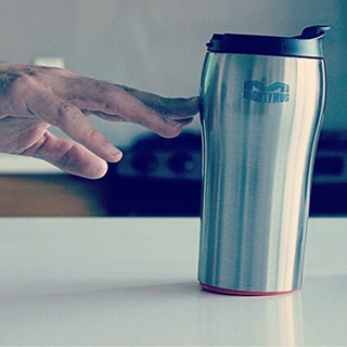 Spill-Proof Travel Mug