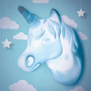 Unicorn Light Wall Hook