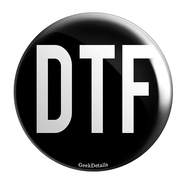 DTF Button