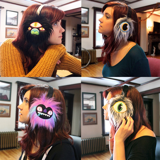 Furry Monster Earmuffs