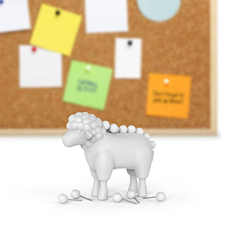 Pushpin Sheep