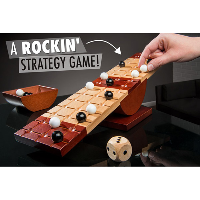 Teetering Board Game