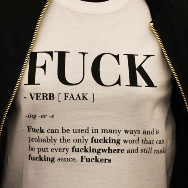 The Definition of Fuck Shirt