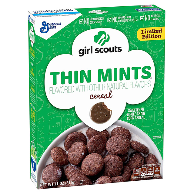 Thin Mints Cereal
