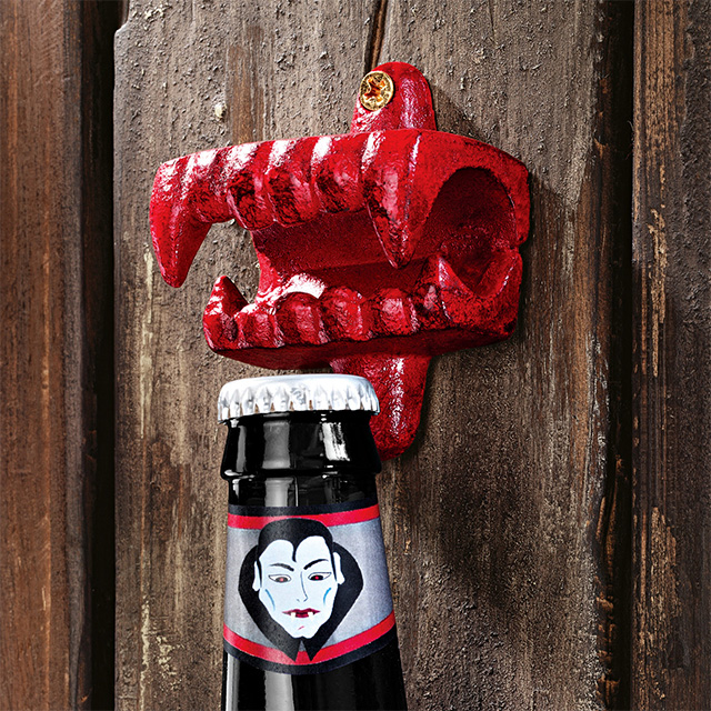 Vampire Fangs Bottle Opener