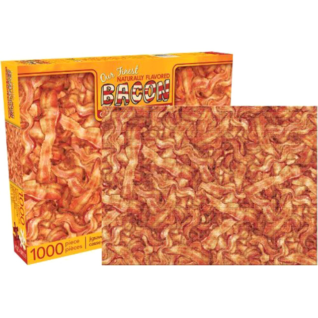 Thousand Piece Bacon Puzzle