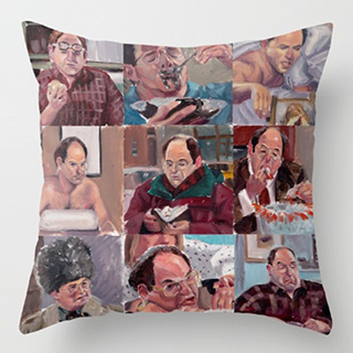 9 Shades of Costanza Pillow