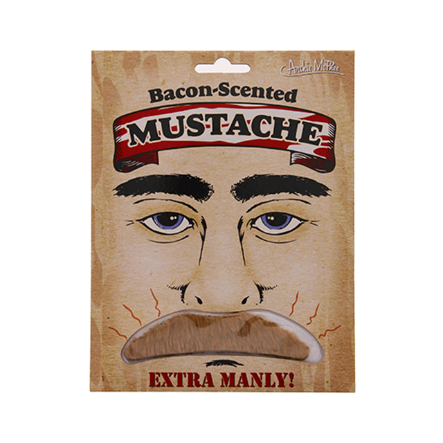 Bacon-Scented Mustache