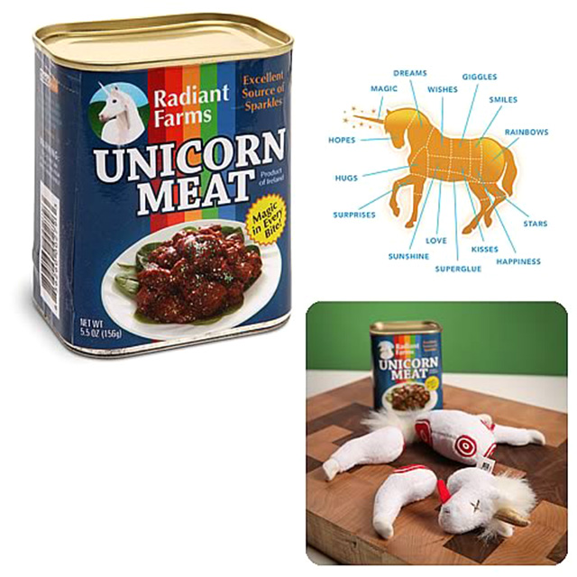 Dismembered Unicorn Doll