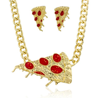 Pizza Bling Jewelry Set