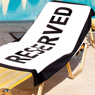 Reserved Pool Towel