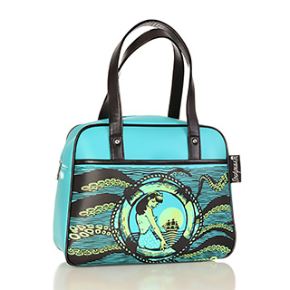 Sea Pinup Bowler Purse