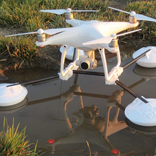 Water Landing Gear for Drones