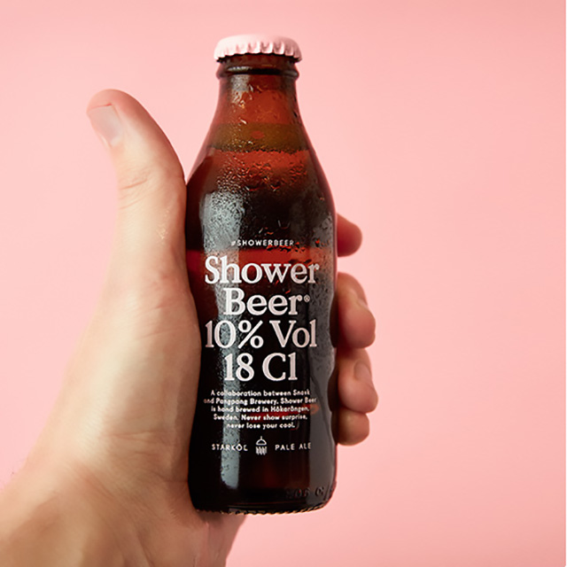 High ABV Shower Beer