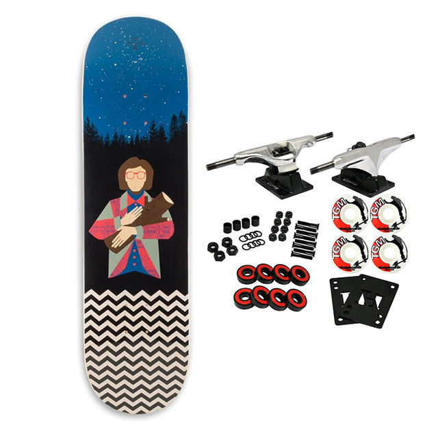 Log Lady Complete Skateboard Setup