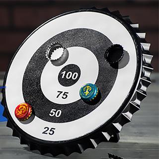 Magnetic Bottle Cap Target