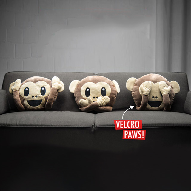 Non-Evil Monkey Pillows