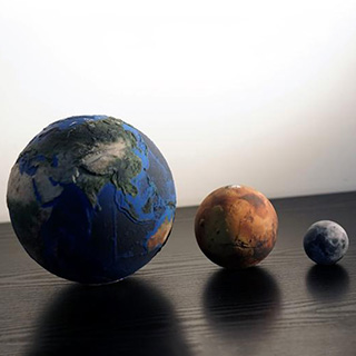 Scale Model Planets