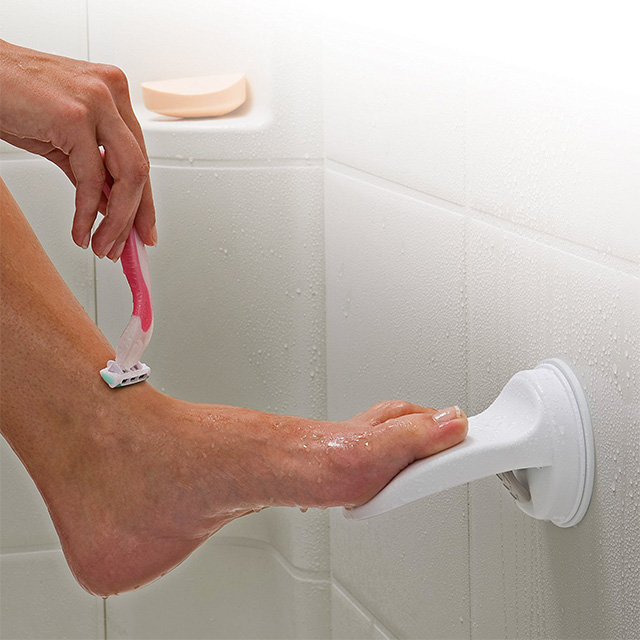 Shaving Foot Rest