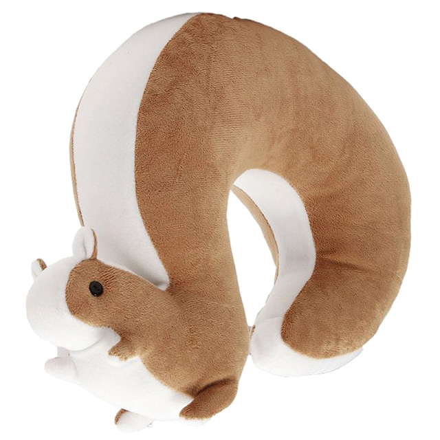 Squirrel Neck Pillow