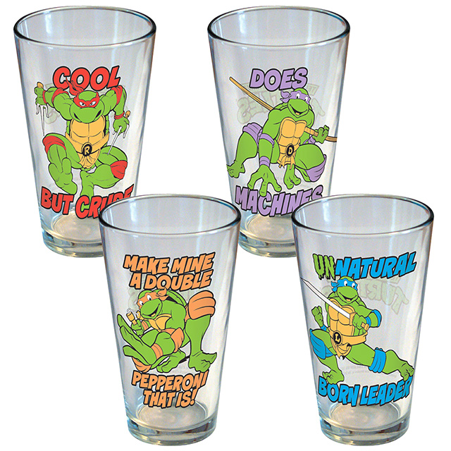 TMNT Pint Glass Set