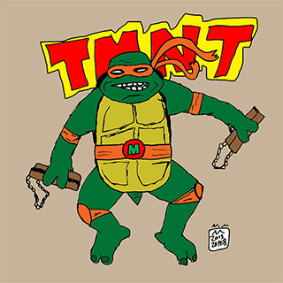 Totally Rad TMNT Stuff