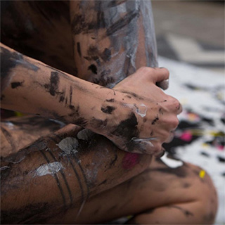 Body Painting Canvas Kit