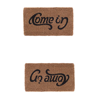Double Message Doormat