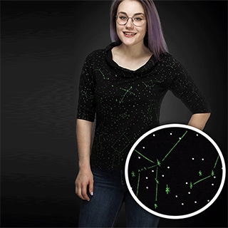 Glowing Constellations Top