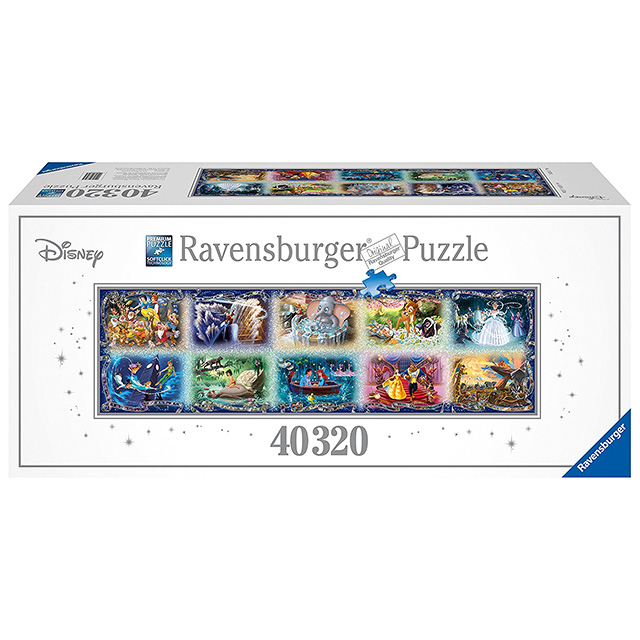Huge 22 Foot Disney Puzzle