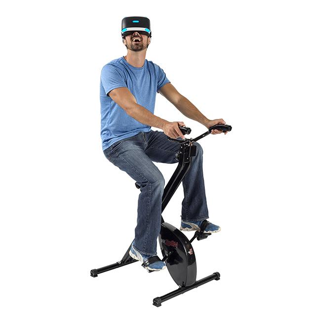 VR Exercise Bike Games