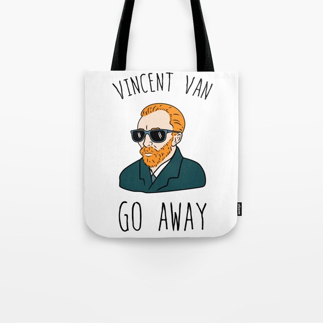 Vincent Van Go Away Bag