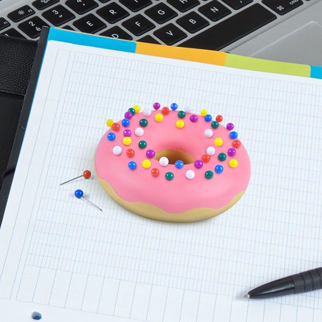 Donut Eraser with Sprinkle Pushpins