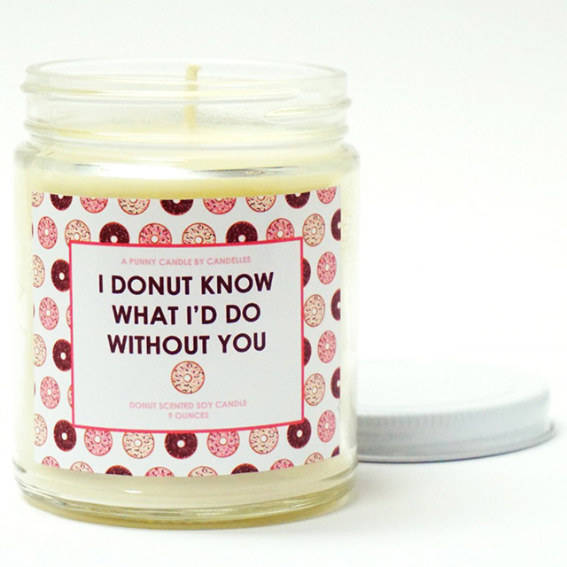 Donut Scented Candles