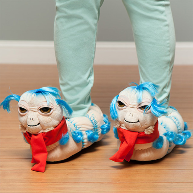 Labyrinth Worm Slippers