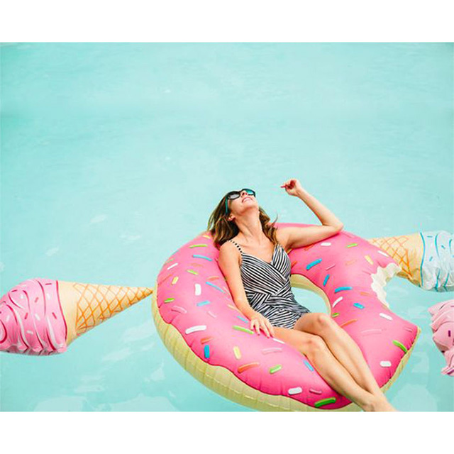 Pool Float Donut