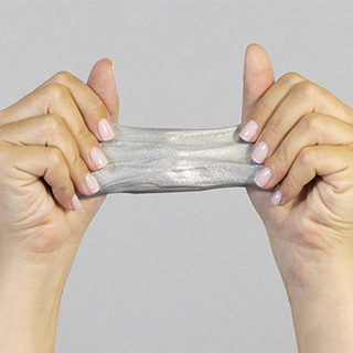 Silver Thinking Putty