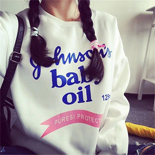 Baby Oil Sweatshirt