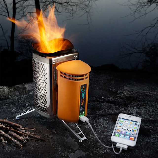 Camp Stove and USB Charger