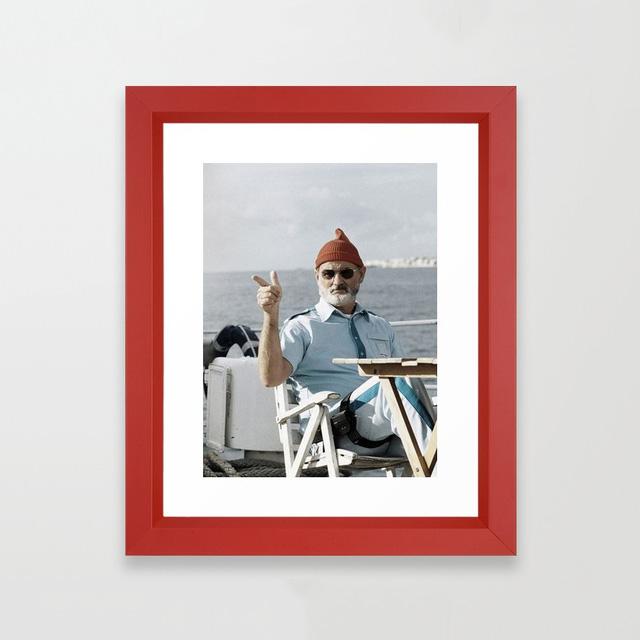 Framed Steve Zissou