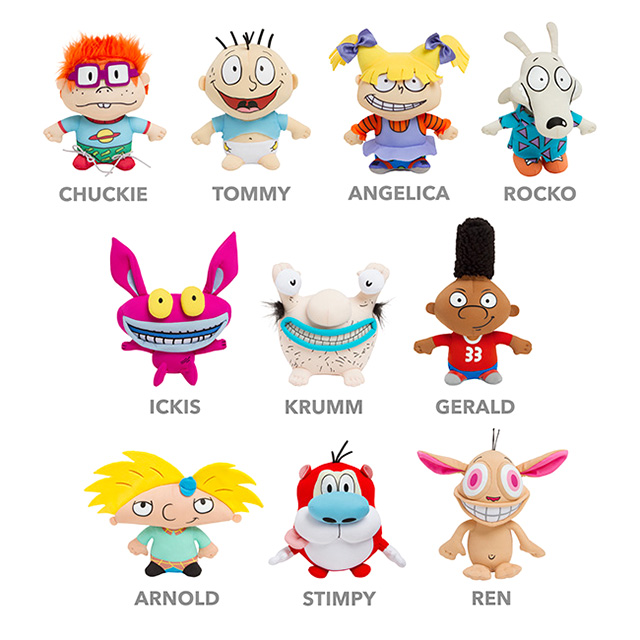 Nickelodeon Plush Dolls