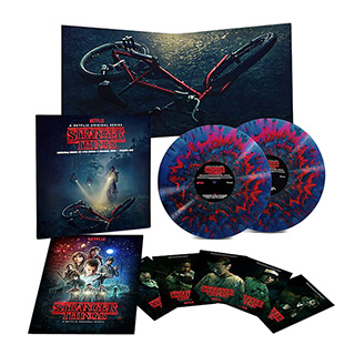 Stranger Things Splatter Vinyl