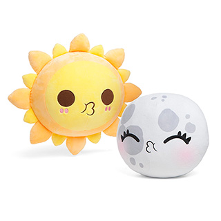 Sun and Moon Plushies